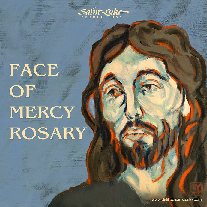 Face of Mercy Rosary Digital Download